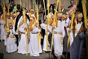 Español: Entrada de Jesús en Jerusalén - Toled...