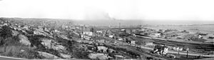 English: Panorama of Duluth, Minnesota, c1898