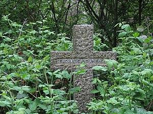 Highgate Cemetery.