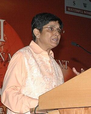 Dr. Kiran Bedi @ SWIM Conference. SWIM - Succe...