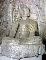 Ph�t A-di-đà tại Long Môn (Trung Quốc, nhà Đường, tk 7-9)