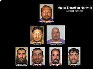 Mosul Terrorism Network -- Accused Terrorists.