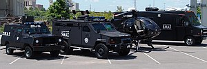 Metro Nashville Police SWAT Vehicles including...
