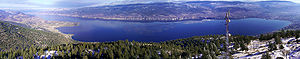 300° panaroma near Penticton, Okanagan Valley,...