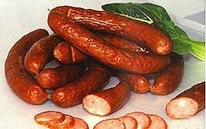 Smoked sausage from Harbin, Heilongjiang