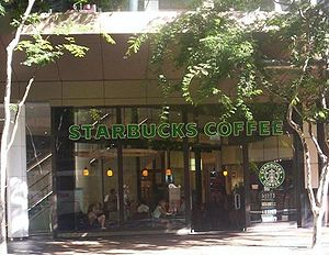 Starbucks in Brisbane