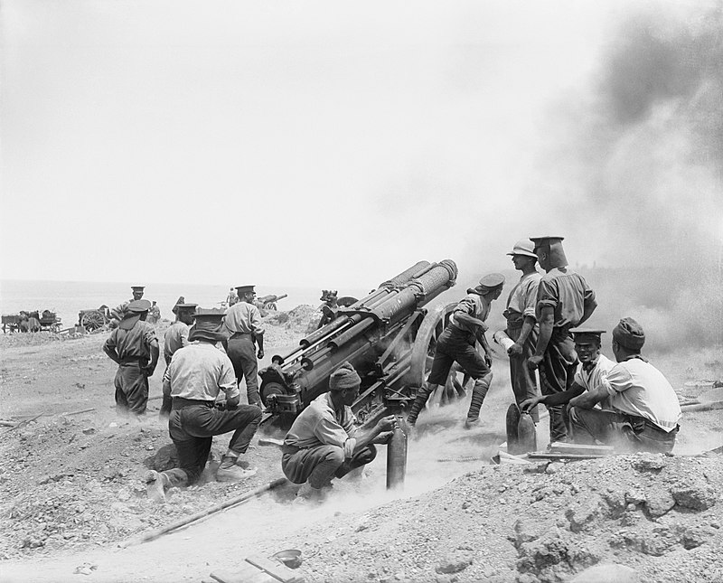 File:60 pounder Cape Helles June 1915.jpg