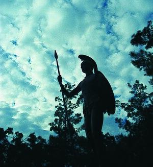 The statue of Achilles in Lamia - Fthiotida - ...