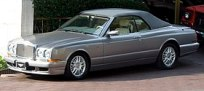 Maqueta 3d recortable del Bentley Azure Mulliner. Manualidades a Raudales.