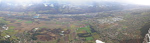 {{en}} Panorama of the Isère valley from the C...