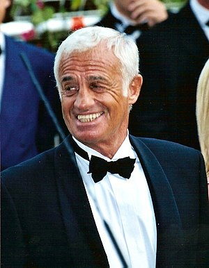 Jean-Paul Belmondo, French actor.