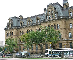 The Langevin Block, home to the Privy Council ...