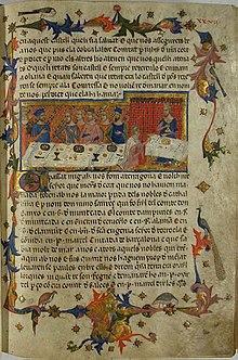Resultat d'imatges de text cròniques medievals
