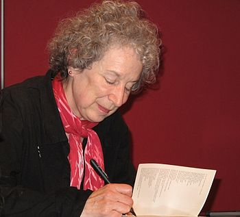English: Margaret Atwood - Munich 19.10.2009 D...