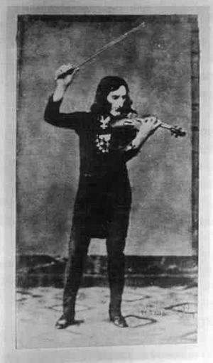 English: Daguerreotype of Niccolo Paganini