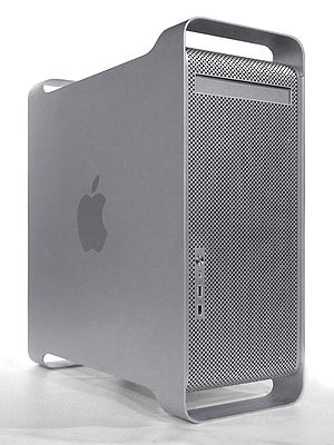 The Power Mac G5, the last model of the series.