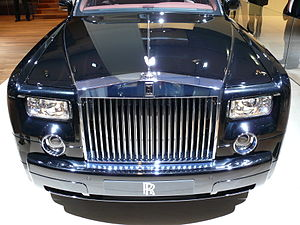 English: Rolls Royce Phantom at the IAA 2007 D...