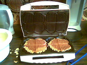 done dual waffles