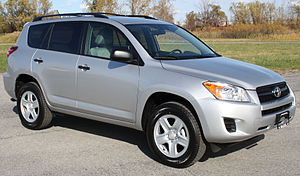 2011 Toyota RAV4 photographed in USA. Category...
