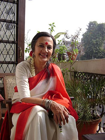 English: Indian politician Brinda Karat in Jan...