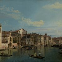 """The Grand Canal in Venice"" by Canaletto"