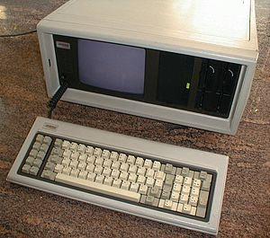 Compaq Portable the first portable IBM PC comp...