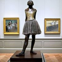 """The Little Fourteen-Year-Old Dancer"" by Edgar Degas (MET)"