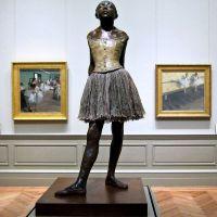 """The Little Fourteen-Year-Old Dancer"" by Edgar Degas (MET)"