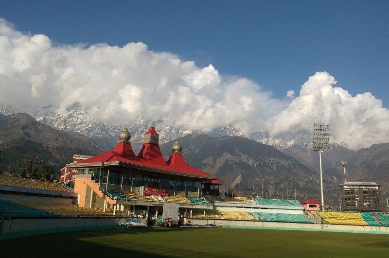 Dharamshala Cricket Stadium Landscape