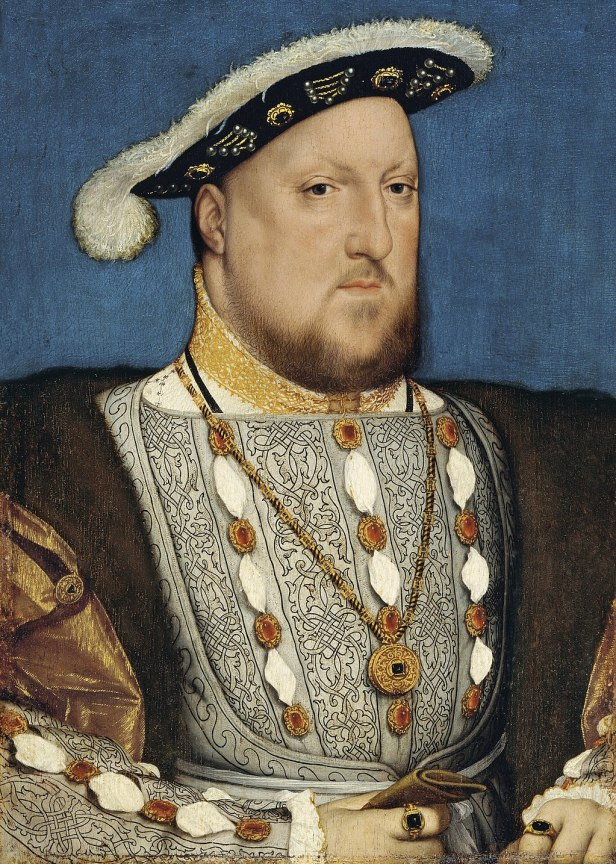 Hans Holbein, the Younger, Around 1497-1543 - Portrait of Henry VIII of England - Google Art Project