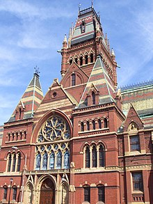 Memorial Hall Harvard University Wikipedia