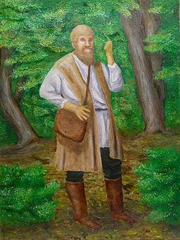 Michael-sattler-preaching-in-woods