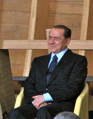 Prime minister of Italy Silvio Berlusconi at V...
