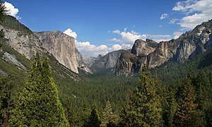 English: Yosemite valley, Yosemite National Pa...