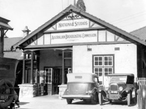 The ABC's Perth headquarters in 1937.