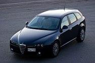 Maqueta 3D del Alfa Romeo 159 Sportwagon. Manualidades a Raudales.