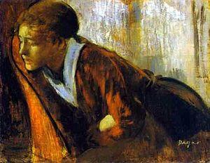 Edgar Degas- Melancholy