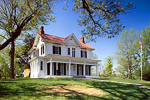 Frederick Douglass House, 1411 W Street, South...
