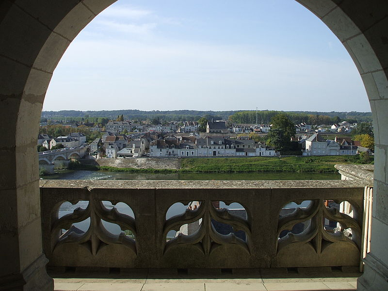 From Chateau de Amboise across the Loire