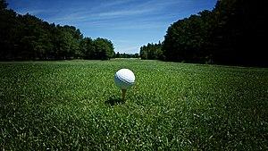 English: Golf ball.