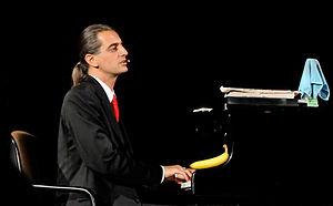 Hagen Rether, German cabaret artist in perform...