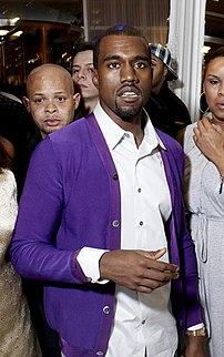 Kanye West in 2007.