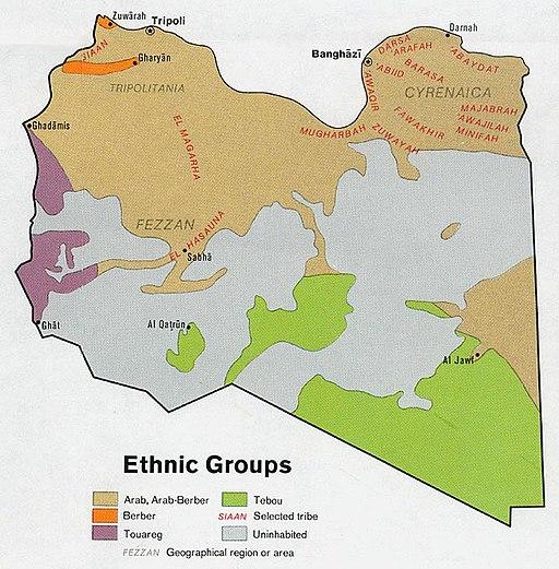 512px Libya ethnic groups Larticle à lire pour comprendre ce quil se passe en Libye