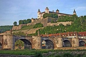 Fortress Marienberg is a prominent landmark on...