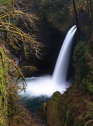 Metlako Falls, Columbia River Gorge National S...