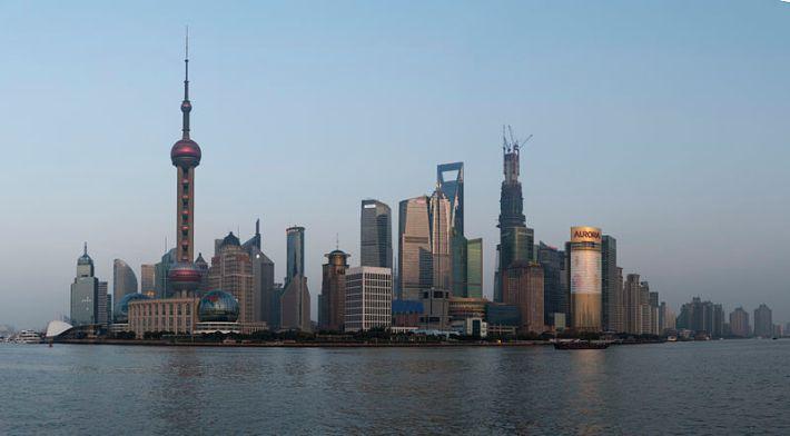 View of the Bund, Shanghai. Photo Credit: Wikimedia Commons, Urashimataro