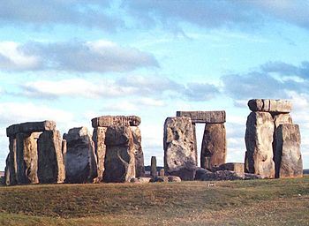English: Standing Stones, Stonehenge, Wilts St...
