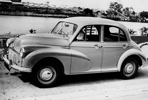 Image of a 1953 Morris Minor car