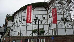 English: The Globe Theatre, London Shakespeare...