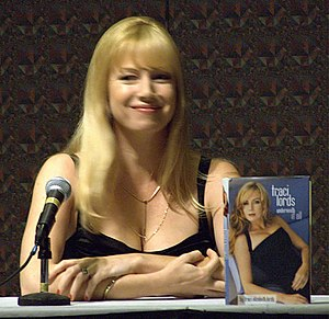 English: Traci Lords at the 2006 DragonCon in ...